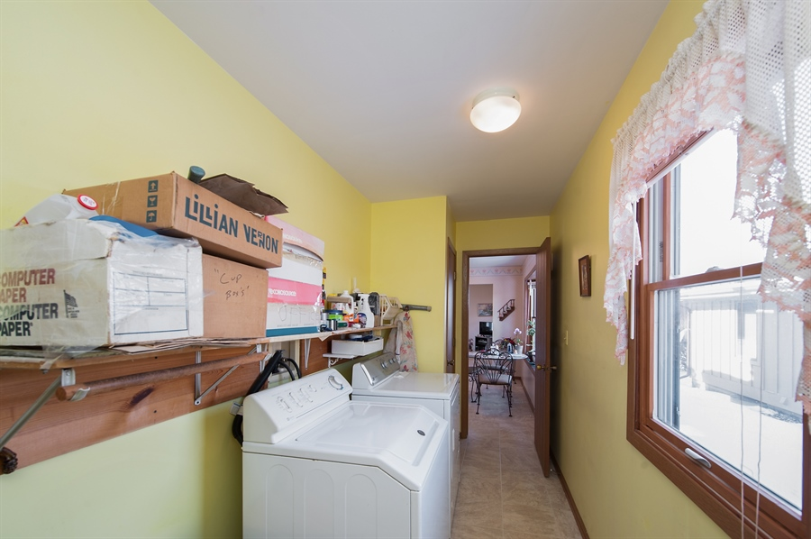 Real Estate Photography - 39866 N Crabapple Dr, Antioch, IL, 60002 - Laundry Room