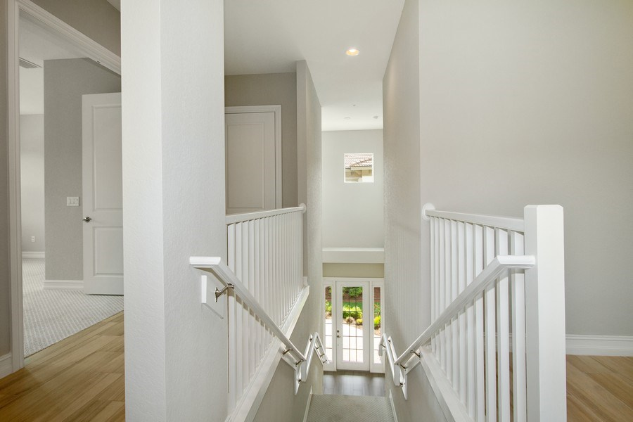 Real Estate Photography - 7801 Hawthorne Dr, Unit 2703, Naples, FL, 34113 - Staircase