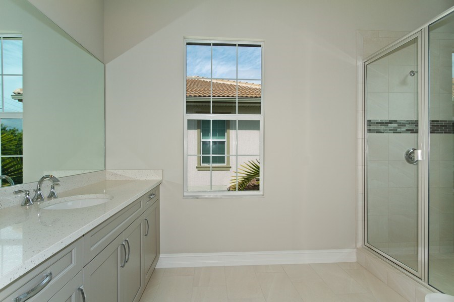 Real Estate Photography - 7801 Hawthorne Dr, Unit 2703, Naples, FL, 34113 - Bathroom