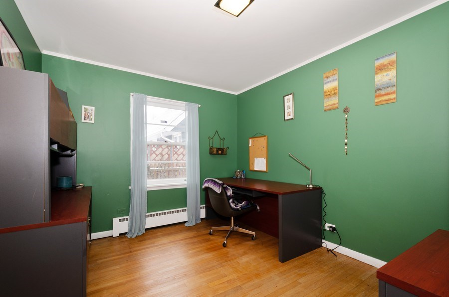 Real Estate Photography - 3306 Hayes Street, Evanston, IL, 60202 - 3rd Bedroom