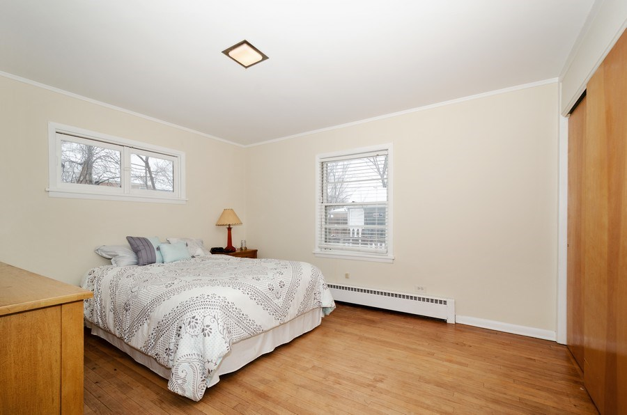 Real Estate Photography - 3306 Hayes Street, Evanston, IL, 60202 - Bedroom