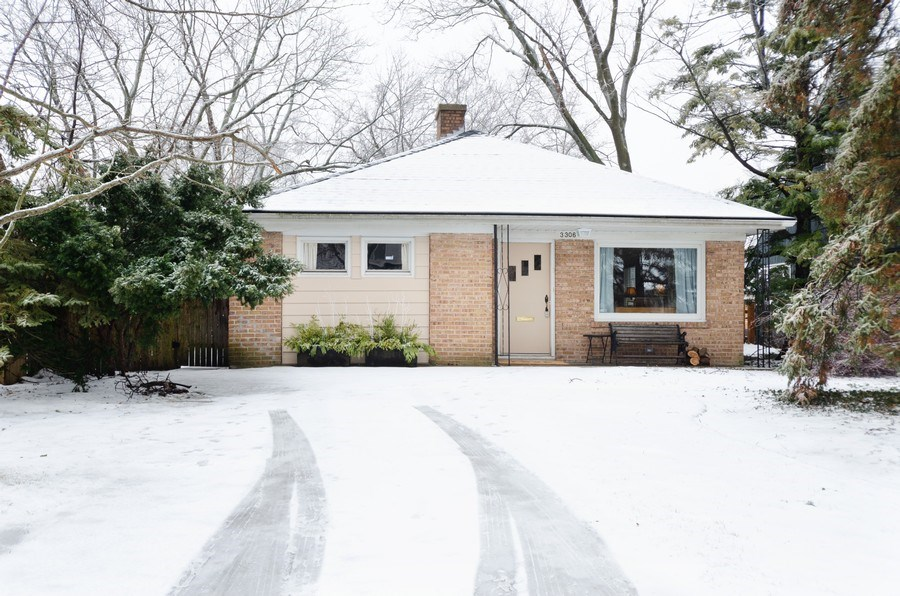Real Estate Photography - 3306 Hayes Street, Evanston, IL, 60202 - Front View