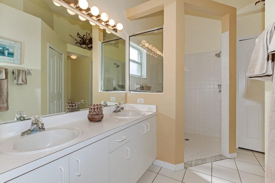 Real Estate Photography - 8047 Palamino Dr, Naples, FL, 34113 - Master Bathroom