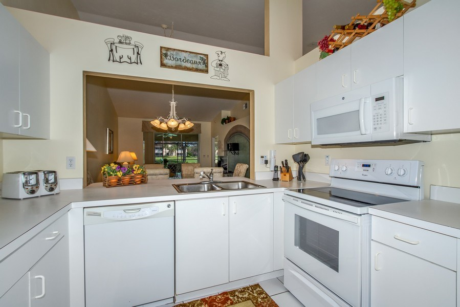 Real Estate Photography - 8047 Palamino Dr, Naples, FL, 34113 - Kitchen
