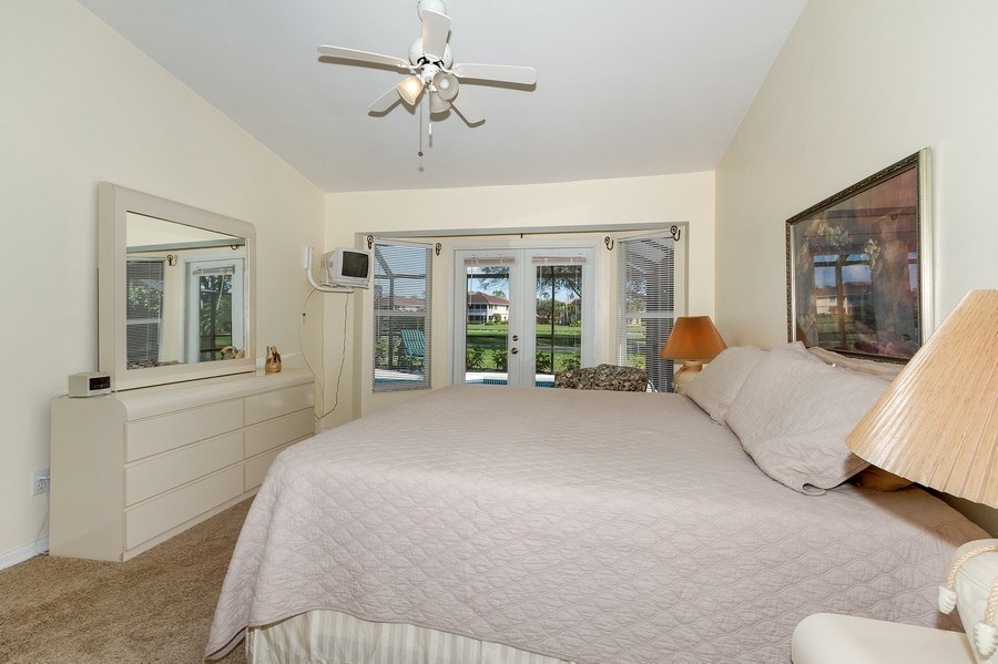 Real Estate Photography - 8047 Palamino Dr, Naples, FL, 34113 - Master Bedroom