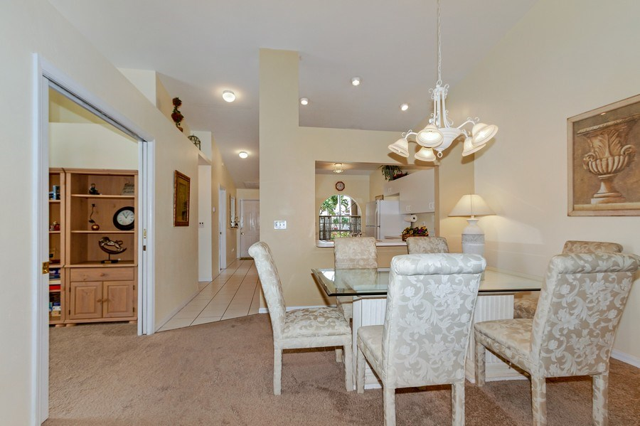 Real Estate Photography - 8047 Palamino Dr, Naples, FL, 34113 - Dining Room