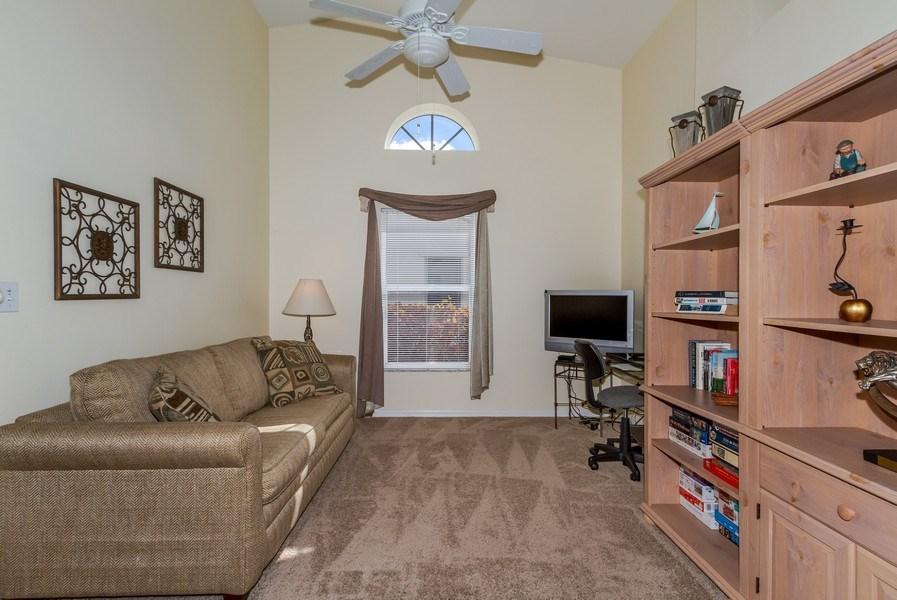 Real Estate Photography - 8047 Palamino Dr, Naples, FL, 34113 - Den