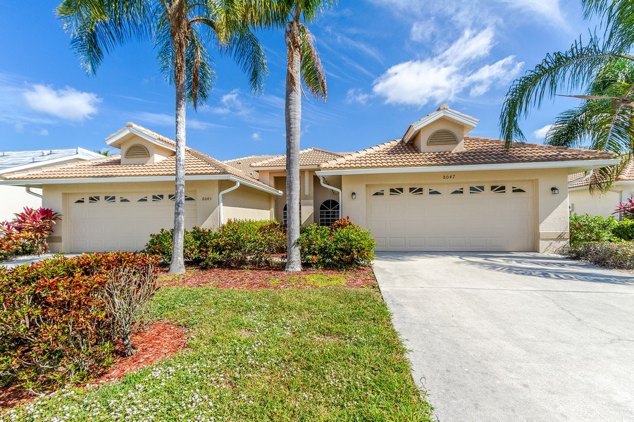 Real Estate Photography - 8047 Palamino Dr, Naples, FL, 34113 - Front View