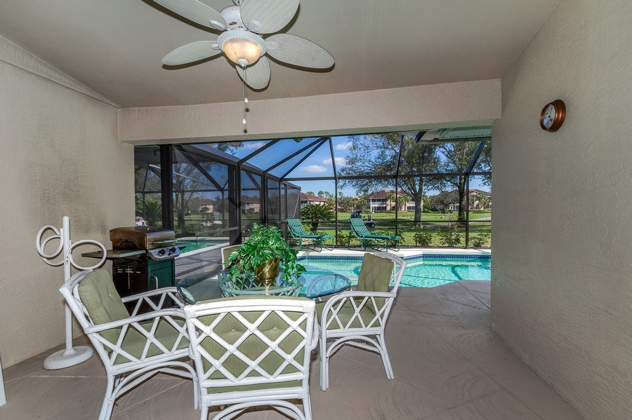 Real Estate Photography - 8047 Palamino Dr, Naples, FL, 34113 - Lanai