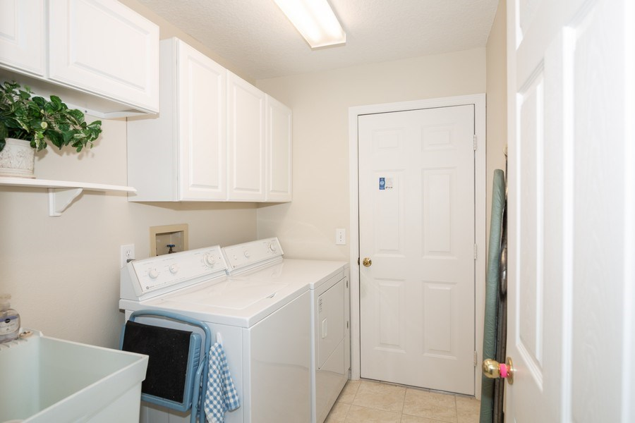 Real Estate Photography - 3525 Shadowood Dr, Valrico, FL, 33596 - Laundry Room