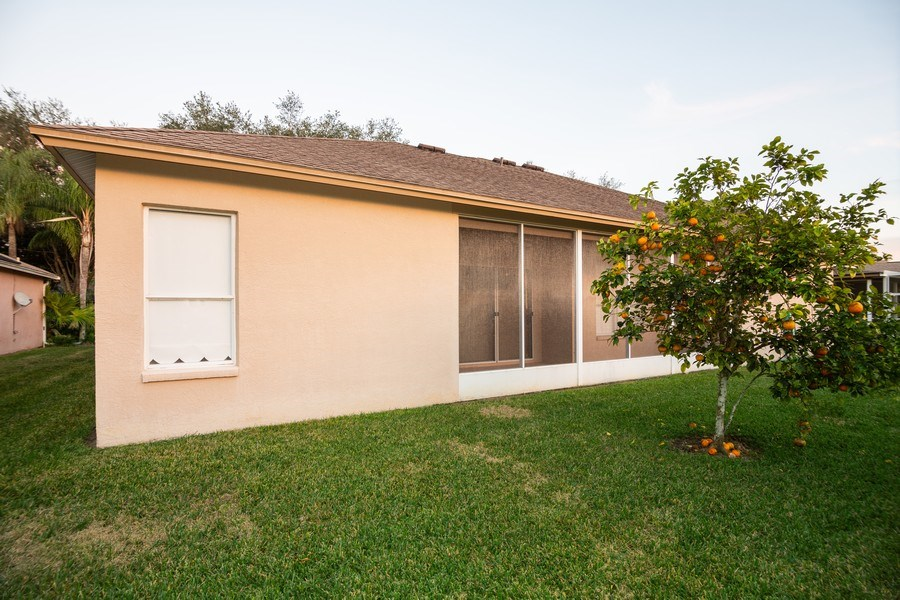 Real Estate Photography - 3525 Shadowood Dr, Valrico, FL, 33596 - Rear View