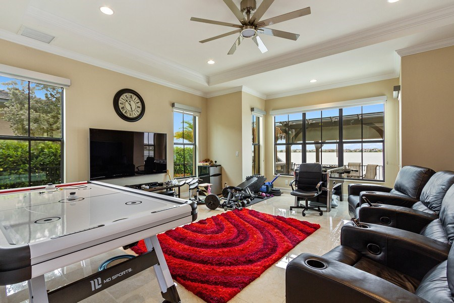 Real Estate Photography - 8745 E Watercress Ct, Parkland, FL, 33076 - Gameroom