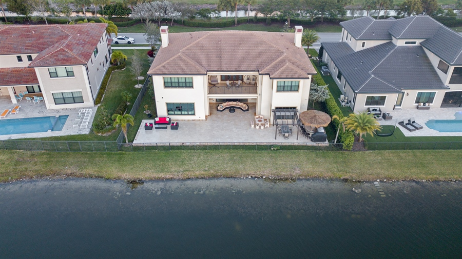 Real Estate Photography - 8745 E Watercress Ct, Parkland, FL, 33076 - Aerial View