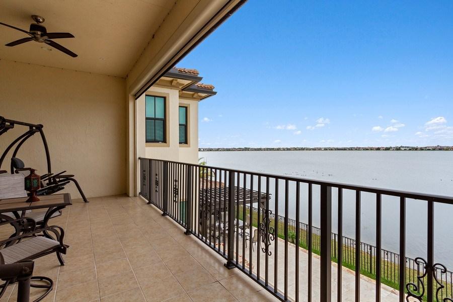 Real Estate Photography - 8745 E Watercress Ct, Parkland, FL, 33076 - Balcony