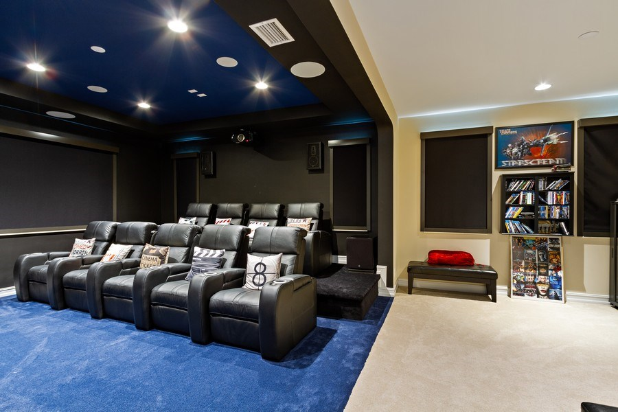 Real Estate Photography - 8745 E Watercress Ct, Parkland, FL, 33076 - Theatre