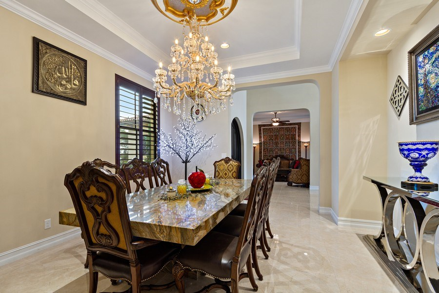 Real Estate Photography - 8745 E Watercress Ct, Parkland, FL, 33076 - Dining Room