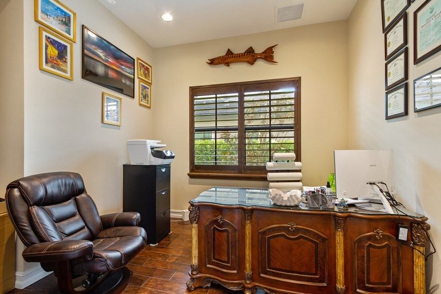 Real Estate Photography - 8745 E Watercress Ct, Parkland, FL, 33076 - Office