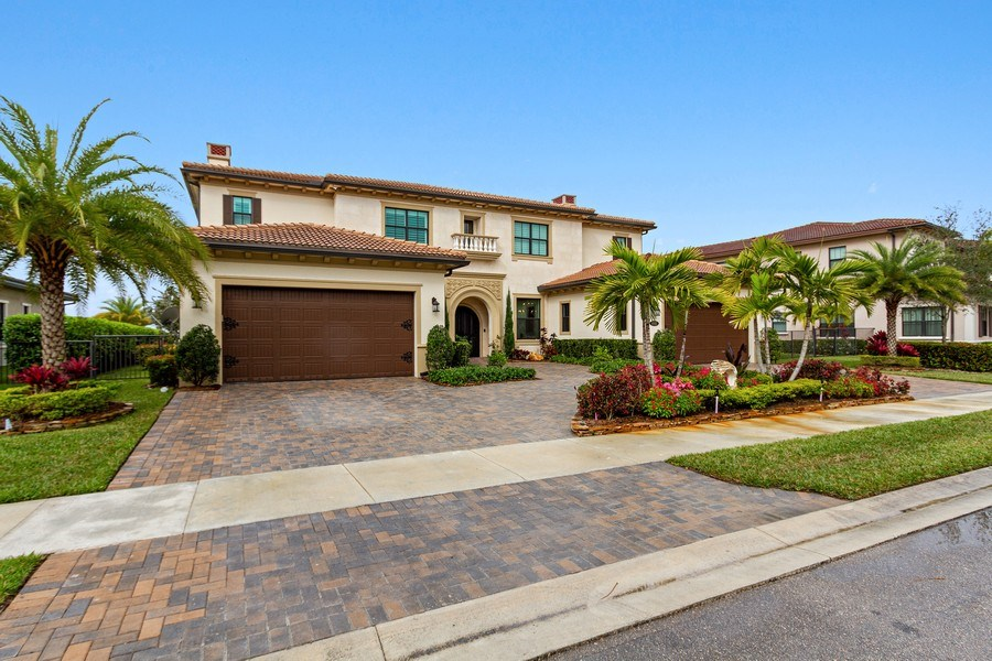 Real Estate Photography - 8745 E Watercress Ct, Parkland, FL, 33076 - Front View
