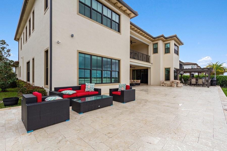 Real Estate Photography - 8745 E Watercress Ct, Parkland, FL, 33076 - Patio