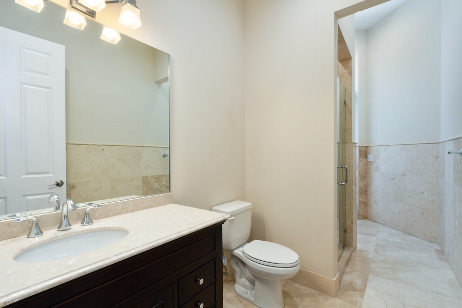Real Estate Photography - 6815 NW 122nd Ave, Parkland, FL, 33076 - 5th Bathroom