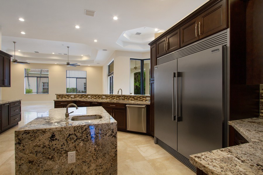 Real Estate Photography - 6815 NW 122nd Ave, Parkland, FL, 33076 - Kitchen