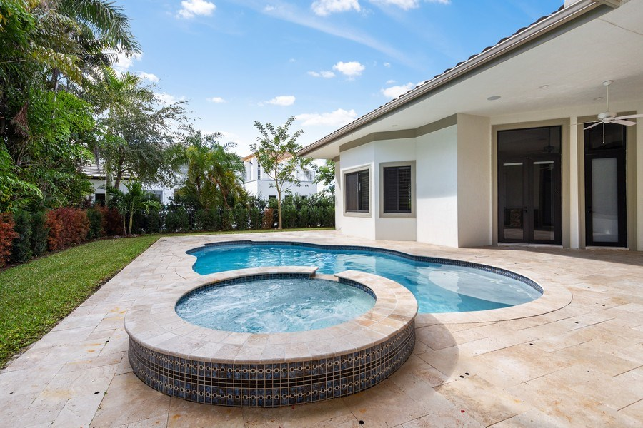 Real Estate Photography - 6815 NW 122nd Ave, Parkland, FL, 33076 - Pool