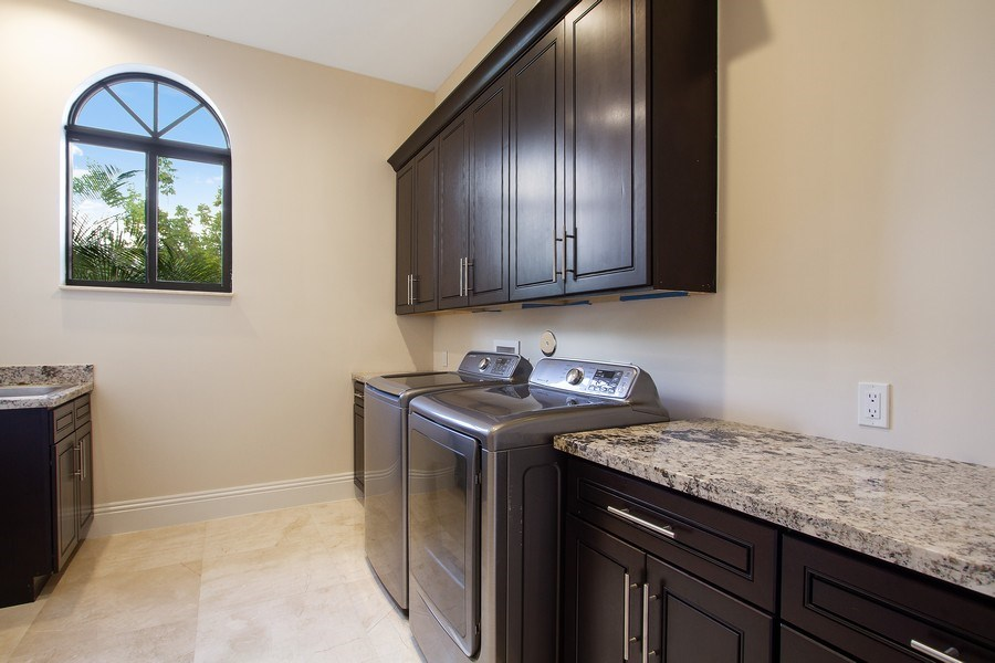Real Estate Photography - 6815 NW 122nd Ave, Parkland, FL, 33076 - Laundry Room
