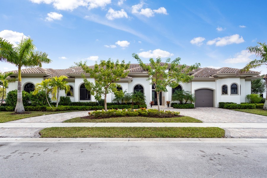 Real Estate Photography - 6815 NW 122nd Ave, Parkland, FL, 33076 - Front View