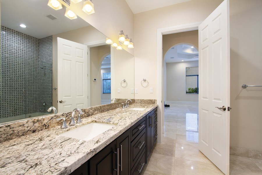 Real Estate Photography - 6815 NW 122nd Ave, Parkland, FL, 33076 - Bathroom
