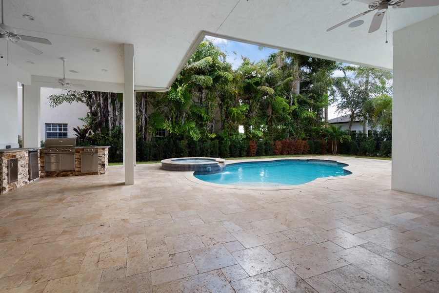 Real Estate Photography - 6815 NW 122nd Ave, Parkland, FL, 33076 - Patio
