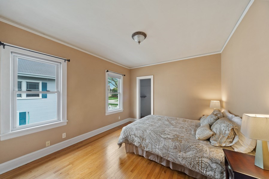 Real Estate Photography - 220 N Oak, Elmhurst, IL, 60126 - Master Bedroom