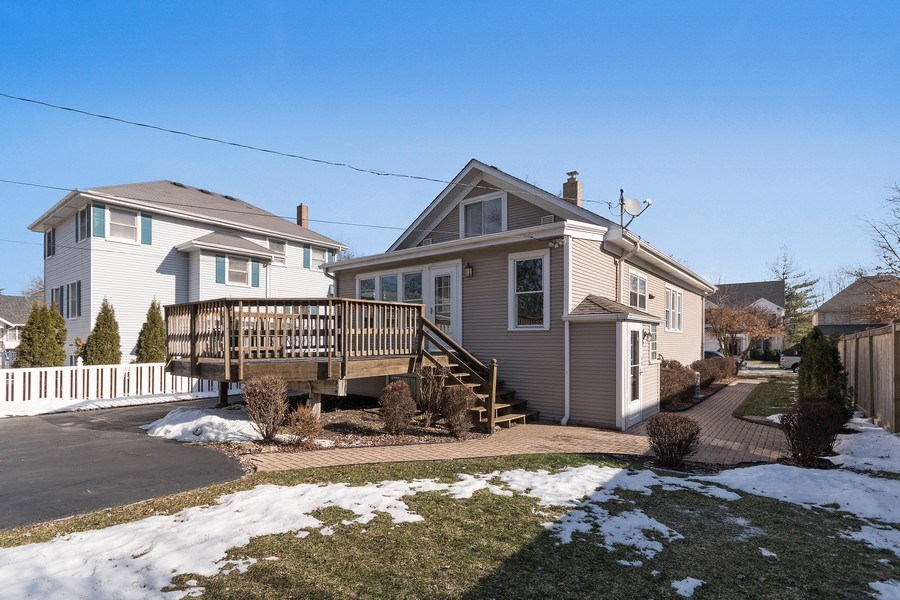 Real Estate Photography - 220 N Oak, Elmhurst, IL, 60126 - Back Yard