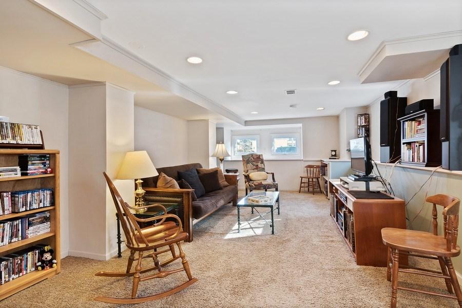 Real Estate Photography - 220 N Oak, Elmhurst, IL, 60126 - Family Room