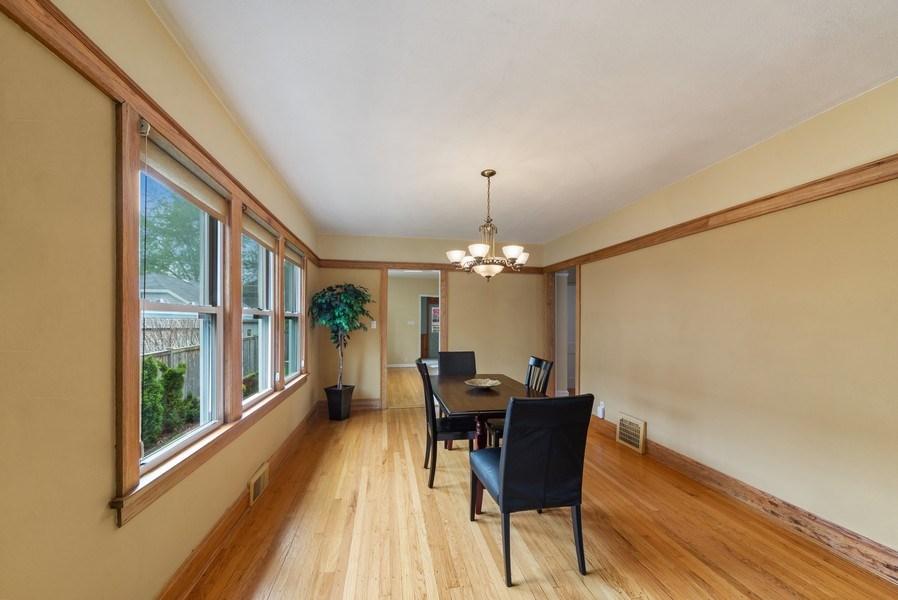 Real Estate Photography - 220 N Oak, Elmhurst, IL, 60126 - Dining Room