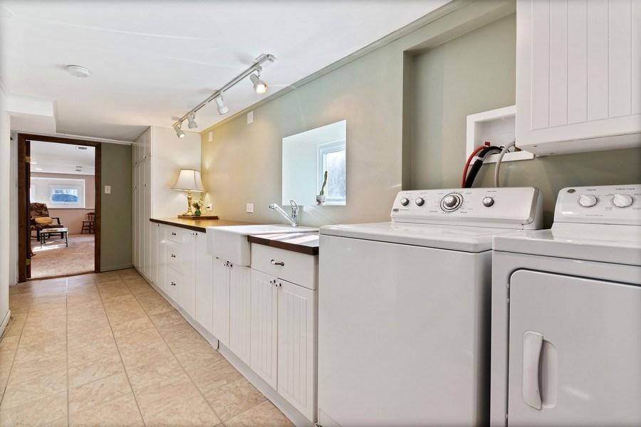 Real Estate Photography - 220 N Oak, Elmhurst, IL, 60126 - Laundry Room