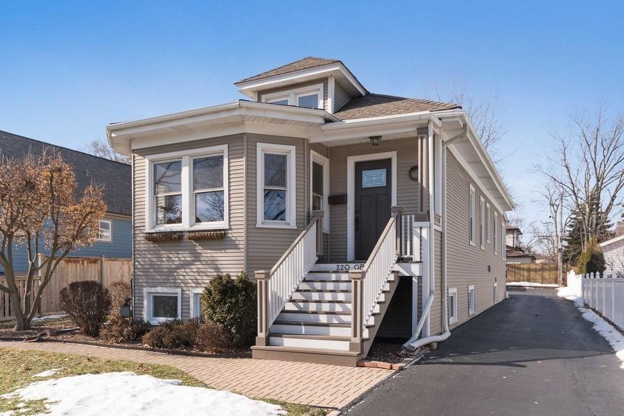 Real Estate Photography - 220 N Oak, Elmhurst, IL, 60126 - Front View