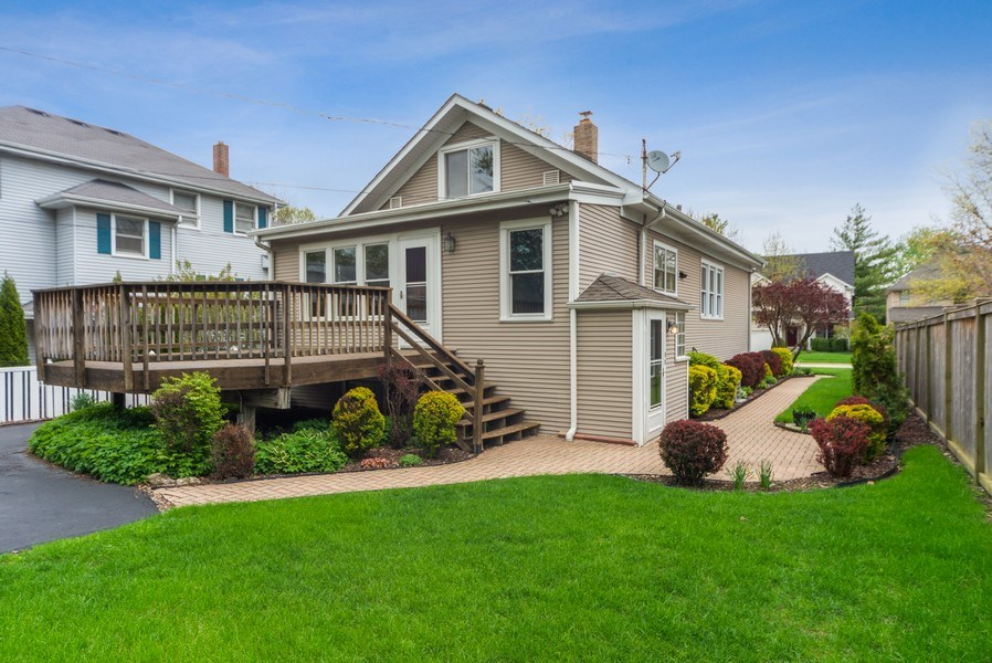 Real Estate Photography - 220 N Oak, Elmhurst, IL, 60126 - Rear View