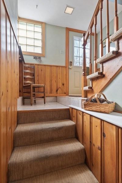Real Estate Photography - 220 N Oak, Elmhurst, IL, 60126 - Staircase