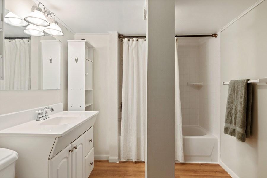 Real Estate Photography - 220 N Oak, Elmhurst, IL, 60126 - Bathroom
