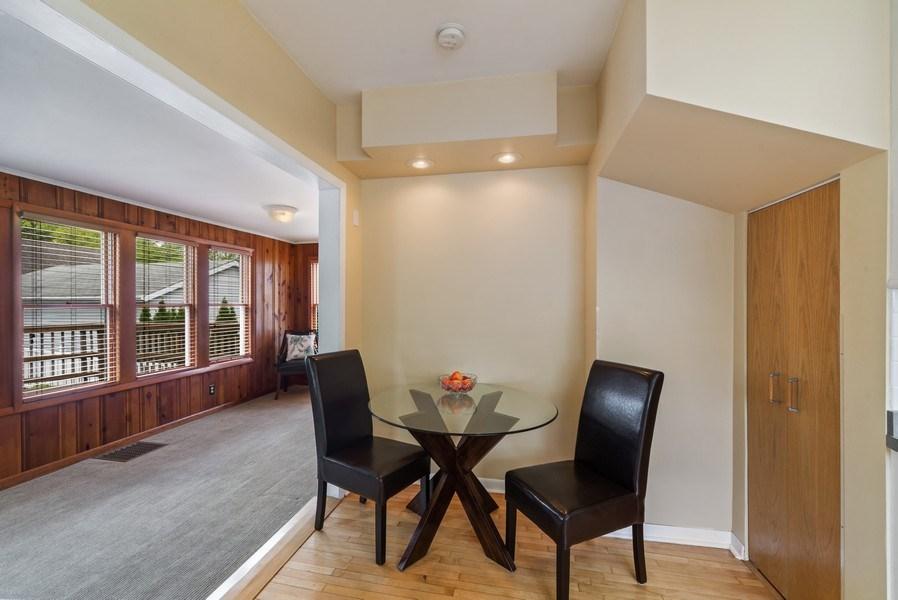 Real Estate Photography - 220 N Oak, Elmhurst, IL, 60126 - Breakfast Nook