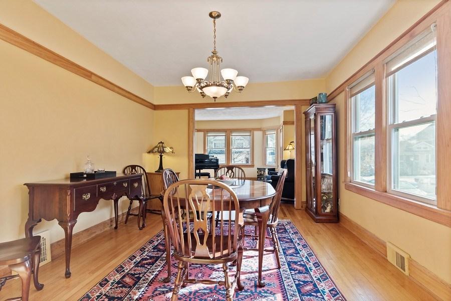 Real Estate Photography - 220 N Oak, Elmhurst, IL, 60126 - Living Room/Dining Room