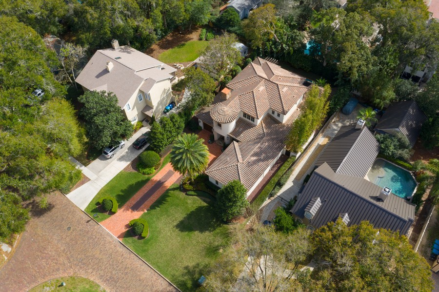 Real Estate Photography - 150 E Rockwood Way, Winter Park, FL, 32789 - Aerial View