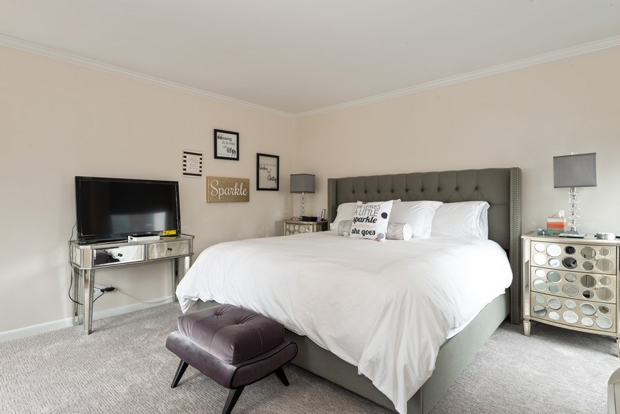 Real Estate Photography - 111 E Chestnut, Unit 20A, Chicago, IL, 60611 - Master Bedroom