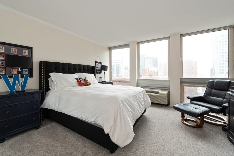 Real Estate Photography - 111 E Chestnut, Unit 20A, Chicago, IL, 60611 - 2nd Bedroom