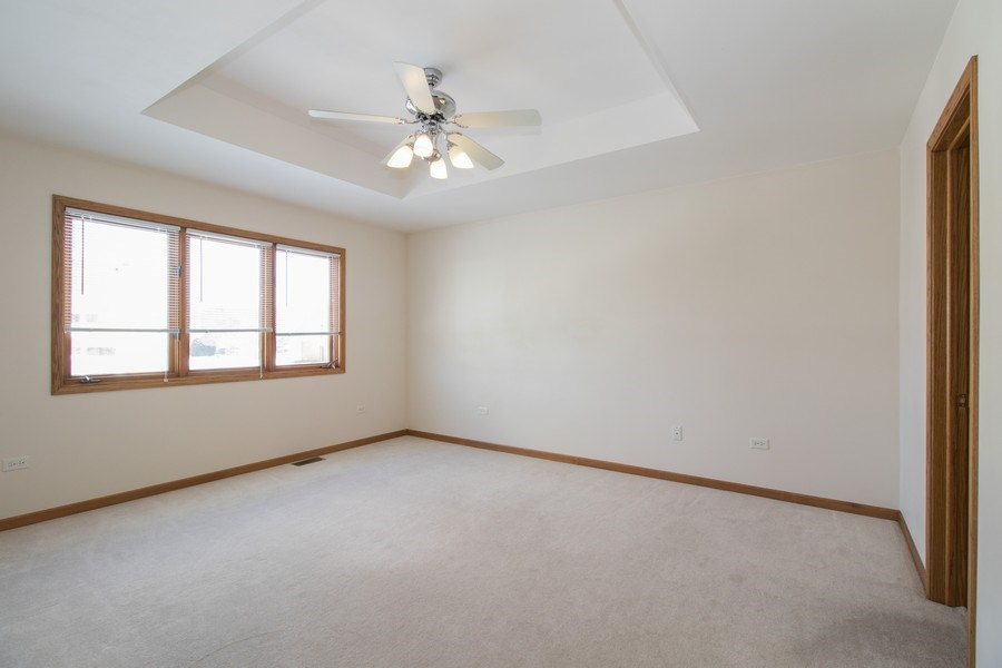 Real Estate Photography - 8200 Cove Ct, Tinley Park, IL, 60487 - Master Bedroom