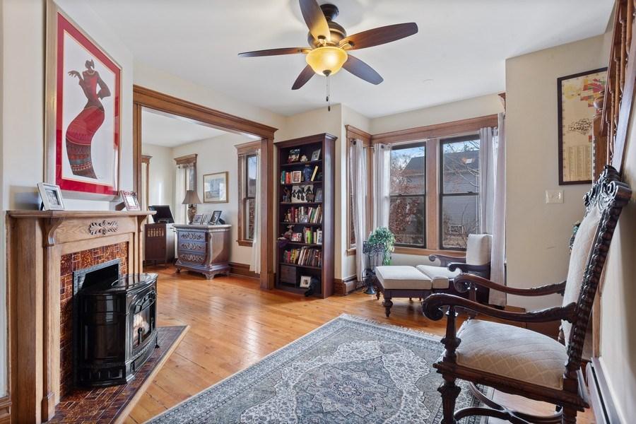 Real Estate Photography - 803 Belleforte Avenue, Oak Park, IL, 60302 - Living Room