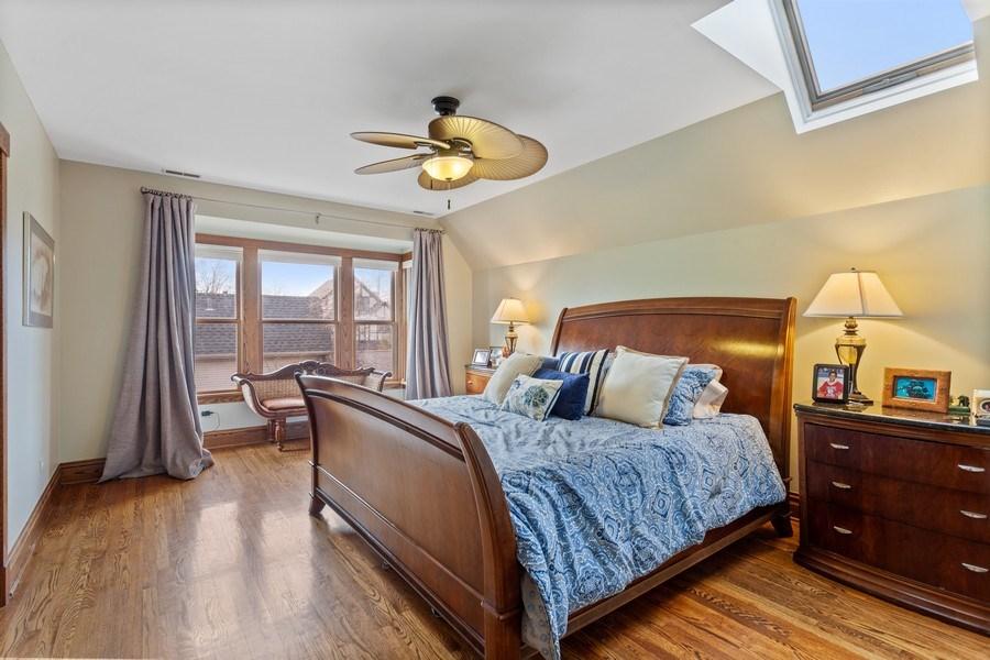 Real Estate Photography - 803 Belleforte Avenue, Oak Park, IL, 60302 - Master Bedroom
