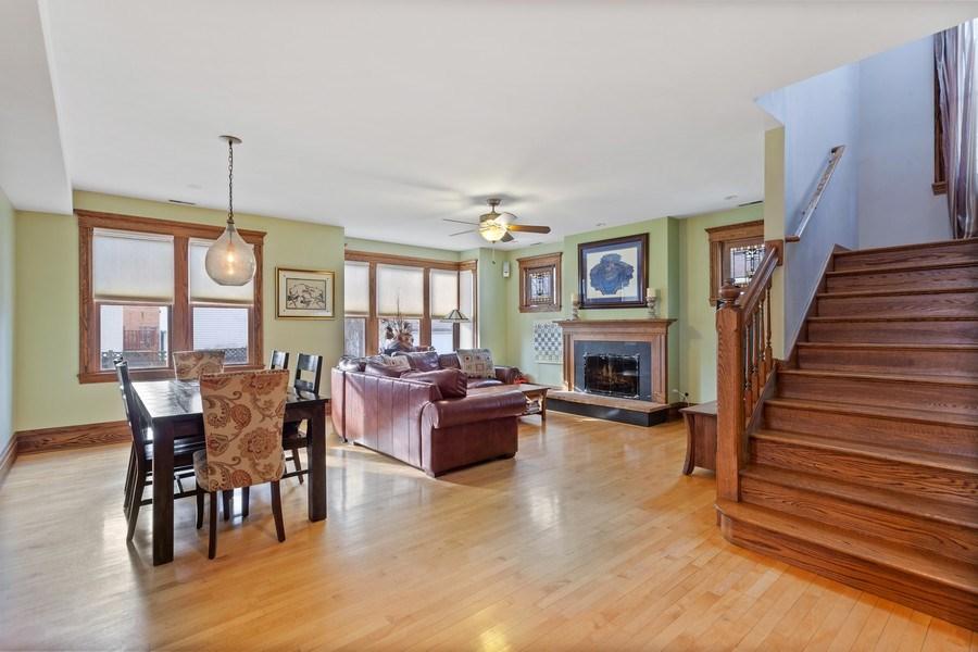 Real Estate Photography - 803 Belleforte Avenue, Oak Park, IL, 60302 - Family Room
