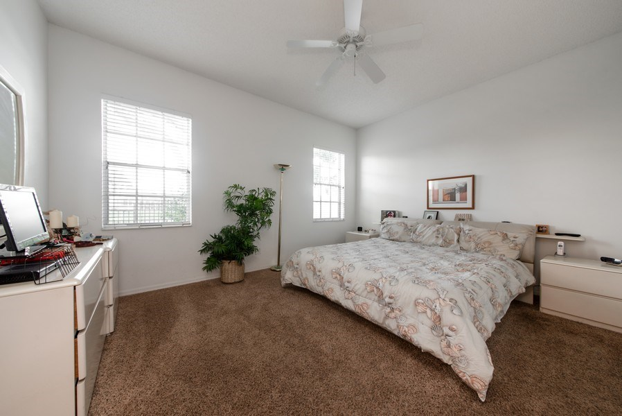 Real Estate Photography - 2591 Country Golf Drive, Wellington, FL, 33414 - Master Bedroom