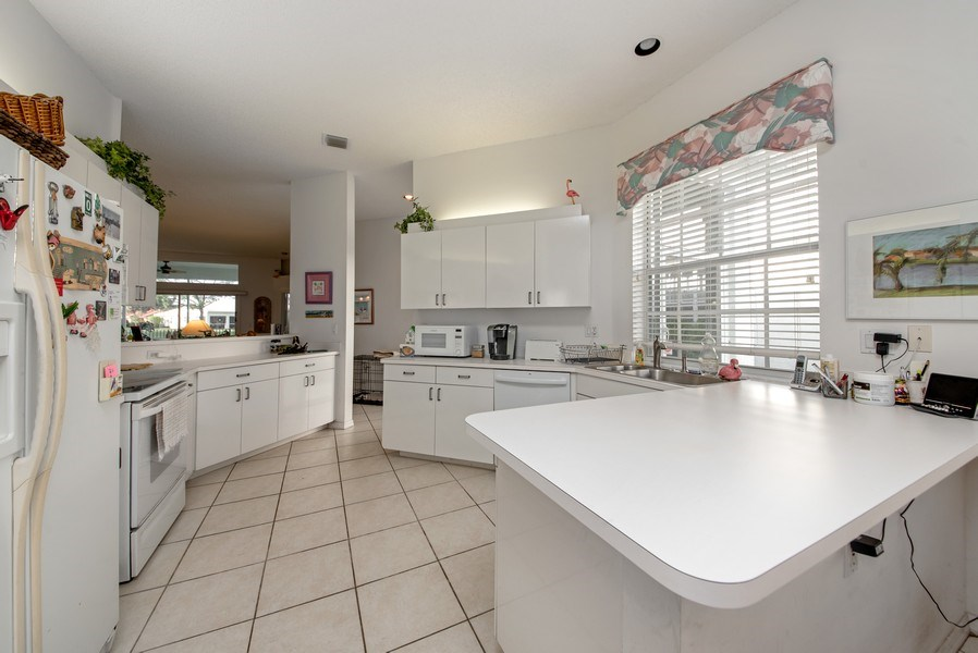 Real Estate Photography - 2591 Country Golf Drive, Wellington, FL, 33414 - Kitchen